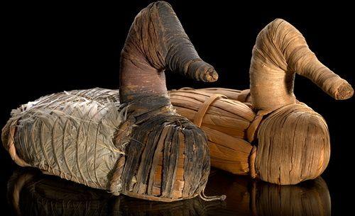 Самые древние чучела уток - им уже более 2000 лет