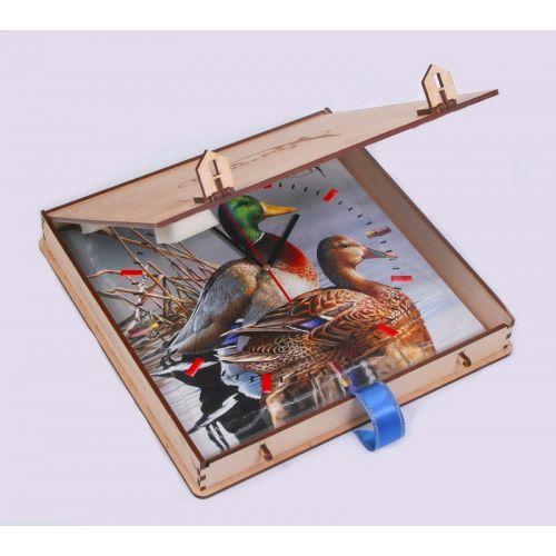 Подарочный деревянный футляр для часов Duck Expert