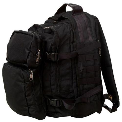 Рюкзак DUCK EXPERT Сталкер 25 литров Оксфорд черный