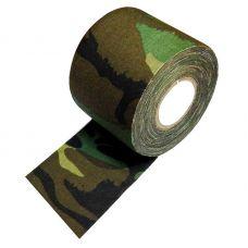 Камуфляжная лента на липкой основе DUCK EXPERT цвет лесной камо 5см*10м