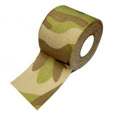 Камуфляжная лента на липкой основе DUCK EXPERT цвет пожухлая трава 5см*10м