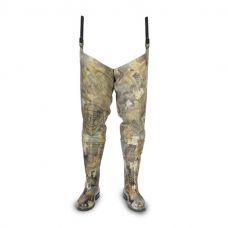 Сапоги-забродники охотничьи из ПВХ камуфляж